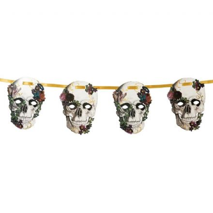 Baroque Skeleton Garland - 8ft